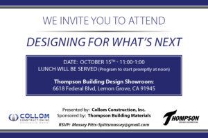 Designing for What's Next - October 15, 2016