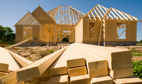 New home construction process : from bare ground to dream house